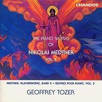 Piano Works 5 by NICOLAS MEDTNER (1998-09-15)
