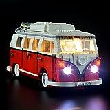 クリエイター?フォルクスワーゲンT1キャンパーヴァン ブロック組み立てモデル 対応 Lightailing LEDライトセット – レゴ 10220 対応LEDライトキット (本体別売)
