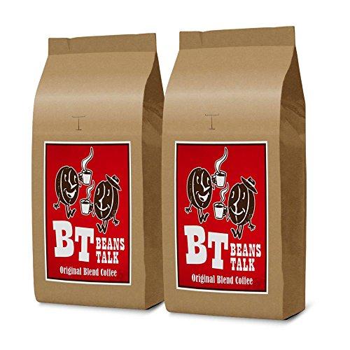 【Amazon.co.jp 限定】ビーンズ トーク オリジナルブレンドコーヒー 1kg(500g×2) (【豆のまま】) #Grocery #B06Y113F8K