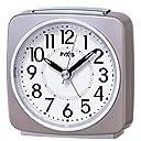 セイコー クロック 目覚まし時計 アナログ PYXIS ピクシス 薄ピンク パール NR440P SEIKO