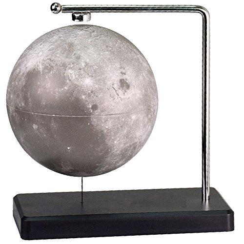 Sciencegeek 磁気浮上 月球儀 天球儀 浮かぶ月球 小型/球形 3D月球儀 浮遊・回転型・電源不要 インテリア飾り 理科 科学 小学生/中学生 観察