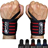 """WOD Nation Wrist Wraps Weightlifting - Weight Lifting Wrist Wraps for Men & Women (12"""", 18"""", 24"""") + Includes Carrying Bag"""