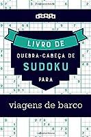 Livro de quebra-cabeças de Sudoku para viagens de barco