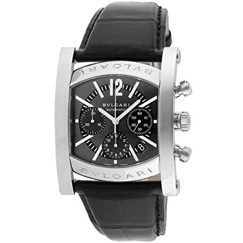 [ブルガリ]BVLGARI 腕時計 AA48C14SLDCH アショーマ クロノグラフ グレー メンズ [並行輸入品]