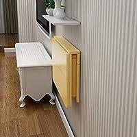 壁掛け式折り畳みテーブルコンピュータテーブルダイニングテーブルソリッドウッド壁掛けテーブルデスク (サイズ さいず : 70*40cm)