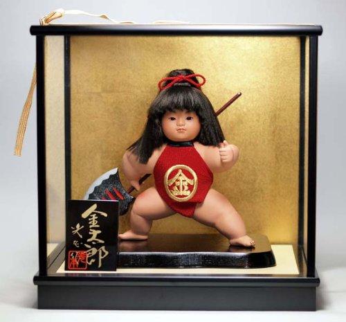 【五月人形】武者人形 金太郎 鉞...