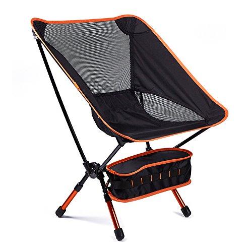 アウトドアチェア 折りたたみ椅子 超軽量900g耐荷重150...