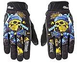 Joe Rocket Airtimeジョー・メンズDestroyオートバイ手袋 M ブルー 1612-1203