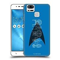 オフィシャルStar Trek デルタ・コンプリート シップス・オブ・ライン ハードバックケース Zenfone 3 Zoom ZE553KL