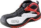 ELF(エルフ) ピットシューズ GEARTECH01(ギアテック01) ホワイト/レッド 28.0cm ELG01