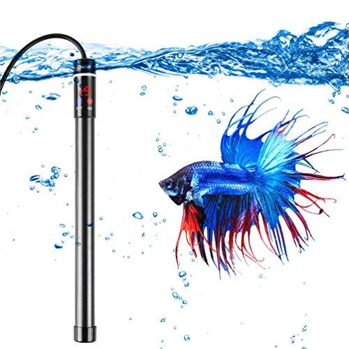LEDGLE 300W オートヒーター 水槽用ヒーター PSE認証 IP68防水 デジタル水温計付き 水温管理 水槽 観賞魚用 熱帯魚 魚タンク用