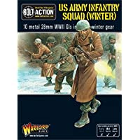 Warlord Games - Us Army Infantry Squad In Winter Clothing - 28mm Bolt Action