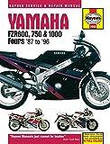 Yamaha FZR600, 750 &1000 Fours '87 to '96 (Haynes Service &Repair Manual)