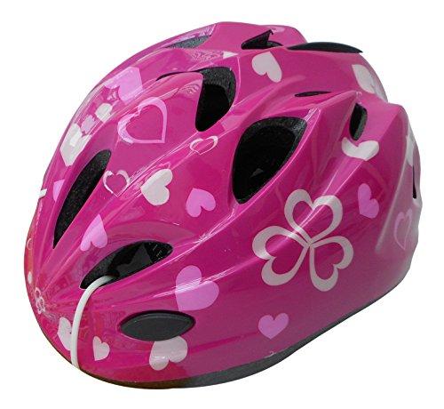 自転車 ヘルメット キッズ スタンダードモデル  ハートピン...