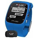 (ポーラー) Polar ユニセックス アクセサリー 腕時計 Polar M400 Bluetooth GPS (Blue with HR) Activity Tracker 並行輸入品