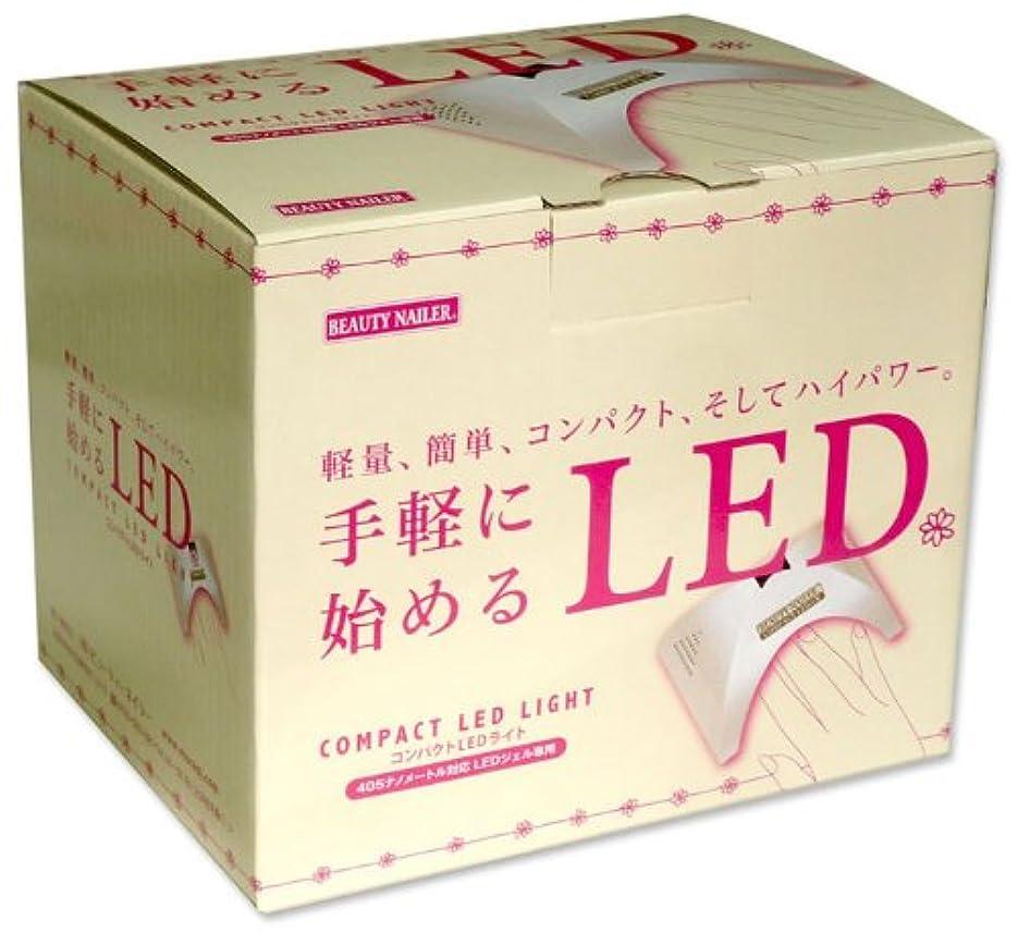 ブッシュ外交官乳製品ビューティーネイラー コンパクトLEDライト ホワイト
