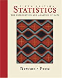 Cover of Statistics : The Exploration and Analysis of Data (with CD-ROM,  InfoTrac®, and Internet Companion)