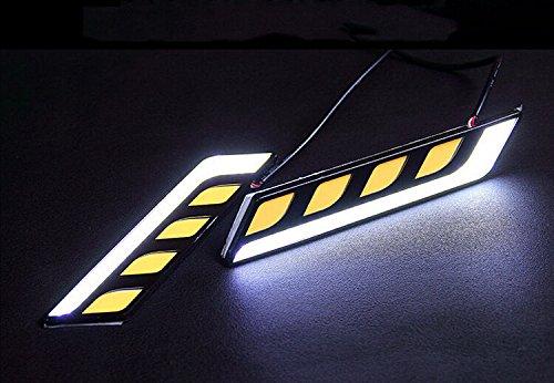 JX-SHOPPU LED デイライトフォグランプ 白 ホワイト 高級感 おしゃれな...