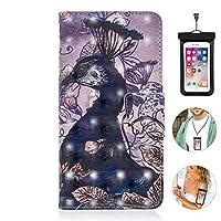 Samsung Galaxy S10E S10e ケース アイフォン 手帳型 本革 レザーケース 財布型 カード収納 マグネット式 スマホケース スマートフォンケース サムスン ギャラクシー[無料付防水ポーチ水泳など適用]