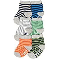 OshKosh B'Gosh Baby Boys Crew Socks (7 Pack)