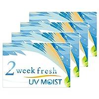2weekフレッシュ UV モイスト 2ウィーク 1箱6枚入 4箱 【BC】8.7 【PWR】-7.00