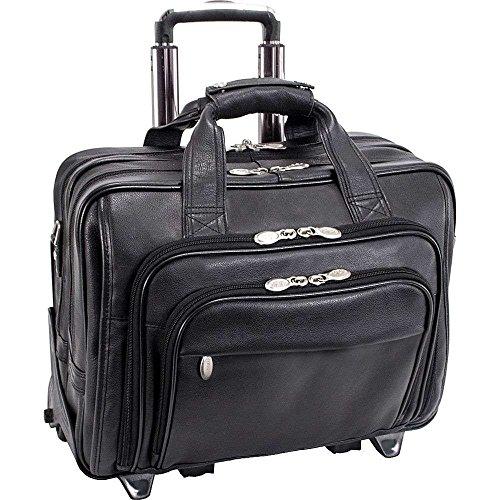 (マックレーンユーエスエー) McKlein USA メンズ バッグ キャリーバッグ Gold Coast Leather Wheeled 17' Laptop Case 並行輸入品