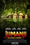 Jumanji Welcome to theジャングル映画ポスター18?x 28インチ