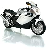 1:12 Scale BMW K1200S Silver Diecast Motorcycle Model by BMW [並行輸入品]