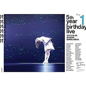 5th YEAR BIRTHDAY LIVE 2017.2.20-22 SAITAMA SUPER ARENA Day1 (Blu-Ray)