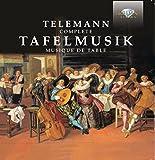 テレマン:ターフェルムジーク全曲(4枚組)/Telemann: Tafelmusik