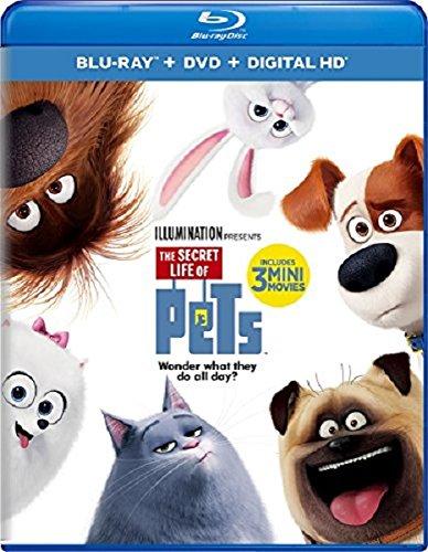 Secret Life of Pets (Blu-ray + DVD + Digital HD)