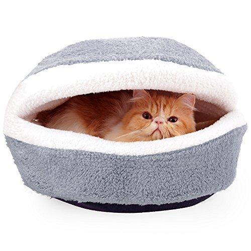 Dopet 猫ベッド ペット用ベッド 子犬 猫用 ペットハウ...