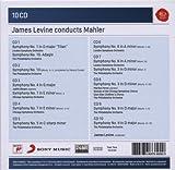 James Levine Conducts Mahler: Symphonies Nos. 1, 3, 4, 5, 6, 7, 9 & 10 画像