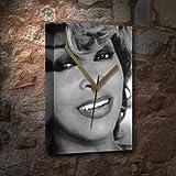 TINA TURNER / ティナ・ターナー - キャンバスクロック(A5 - アーティストによって署名されました) #js004