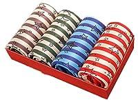 RESPEEDIME 4パックメンズ用下着氷シルク男性ボクサーパンツ竹繊維スポーツ