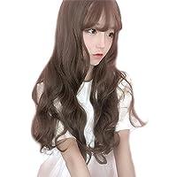 (インマン) INMAN フルウィッグ ウィッグ ロング カール 巻き髪 ふんわり 前髪 自然 原宿 ロリータ 高品質 耐熱