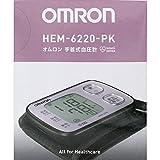オムロン 自動血圧計 ピンクomron HEM-6220-PK