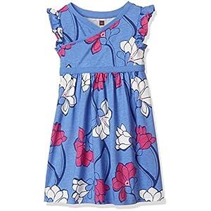 [ティコレクション] Wrap Neck Dress 子供服 キッズ 女の子 ガール コットン インポート ミニワンピース 花柄 マグノリア ガールズ 8S12313R-F82 ブルー US 3T(3~4歳):日本サイズ約95~100cm (日本サイズ100 相当)