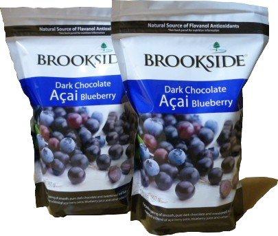 BROOKSIDE ブルックサイド ダークチョコレート アサイ−ブルーベリー907g2袋