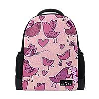 072b892da589 旅立の店 リュックサック バックパック 鳥柄 鮮やか ポリエステル+メッシュ ファッション 通勤
