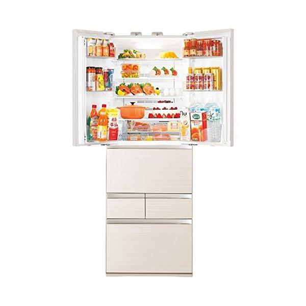 東芝 冷凍 冷蔵庫 508(L) フレンチ G...の紹介画像3