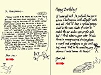 Quiplip Handwritten Yours Truly Birthday Cards 6-Pack (YT04066PCK) [並行輸入品]