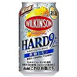 アサヒ ウィルキンソン ハードナイン 無糖 レモン(350ml×24本)×3箱