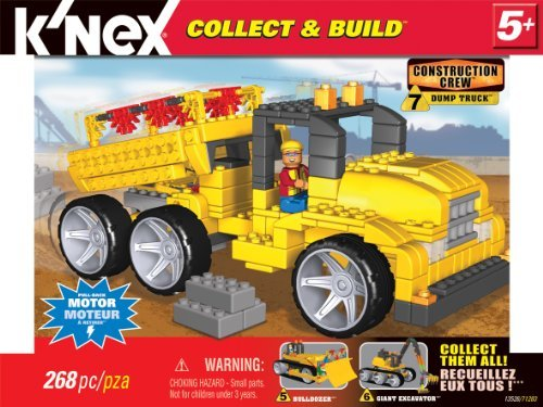 『K'NEX Collect and Build Construction Series #2: Dump Truck [並行輸入品]』の2枚目の画像