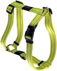 Rogz Utility Dog H-Harness, Dayglow, Large