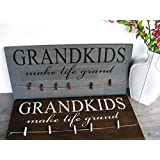 Grandparents Sign Second Baby Announcement Sonogram Announcement Grandma Grandparents Day Pregnancy Announement