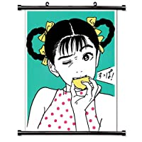 Hisashi Eguchiアニメファブリック壁スクロールポスター( 16x 21)インチ。[ WP ] -hisashi-2