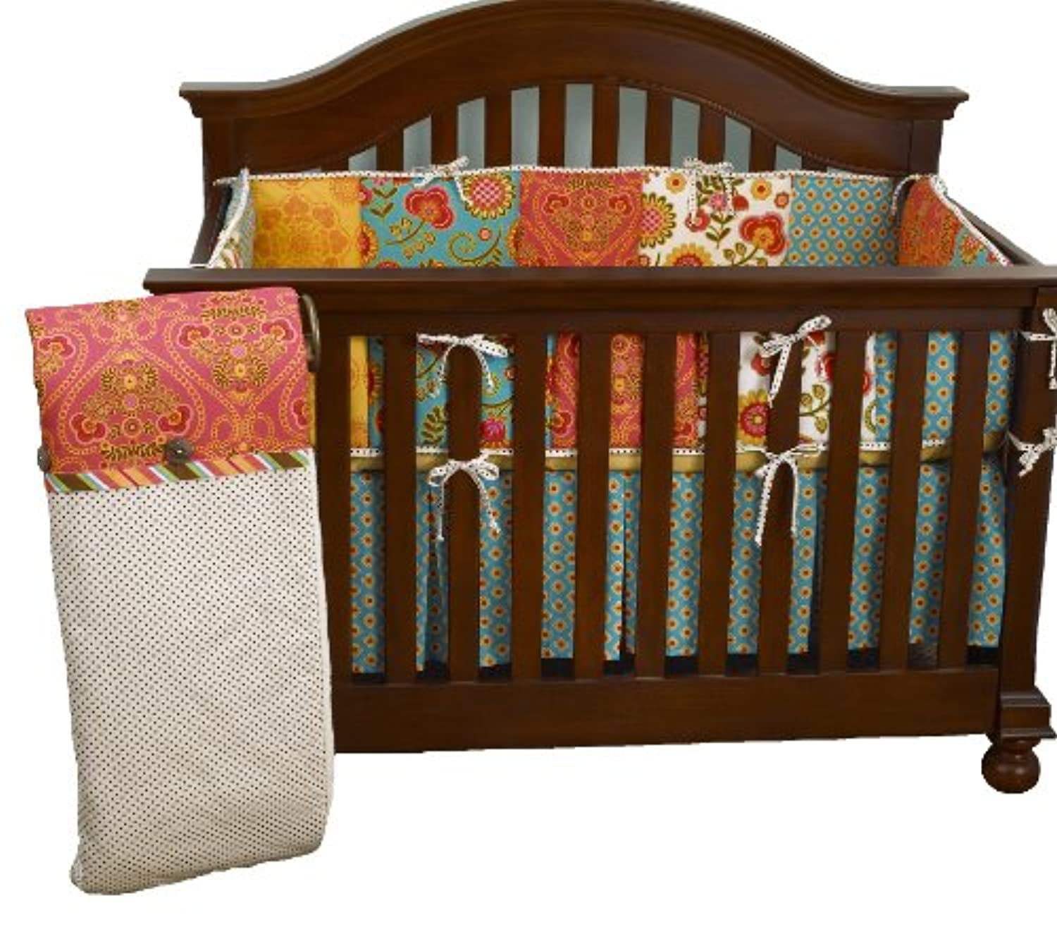 Cotton Tale Designs Gypsy 4 Piece Crib Bedding Set [並行輸入品]