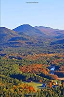 Fall 2020 Weekly Planner Autumn Scene Mountains Valley 134 Pages: 2020 Planners Calendars Organizers Datebooks Appointment Books Agendas