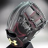 アンダーアーマー 一般硬式内野手用右投げ 品番:1300670 (001)black